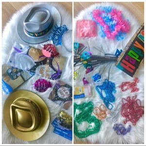 3/$30 FUN PARTY PACK New Years Eve, Birthday decor